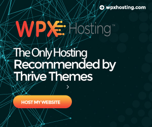 The Only Hosting Recommened By Thrive Themes