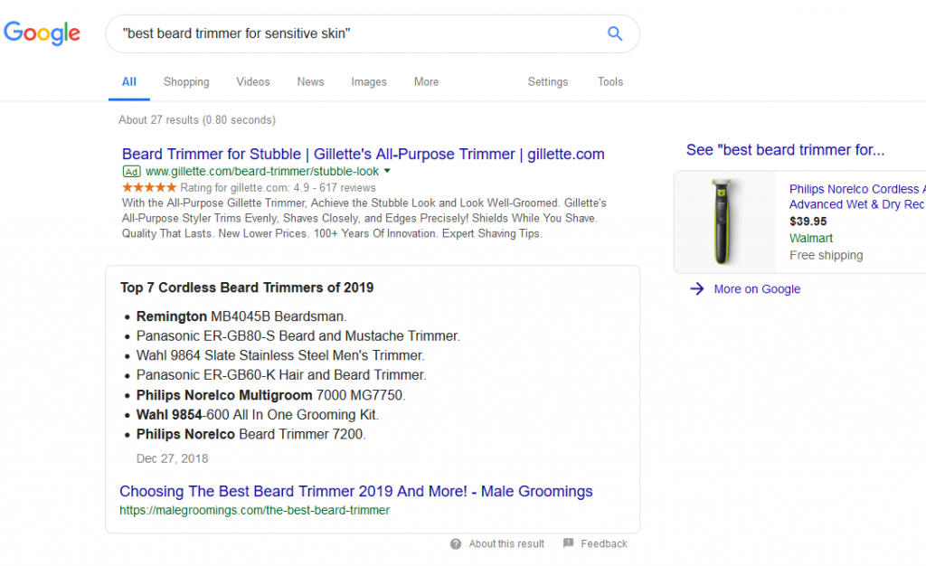 Search Results For Long Tail Keywords